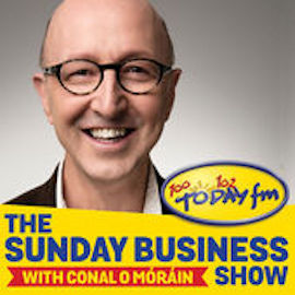 Anne Ravanona speaks on Today FM Sunday Business Show with Conal O'Morain