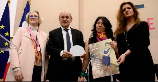 Remise du Prix Simone Veil 2020